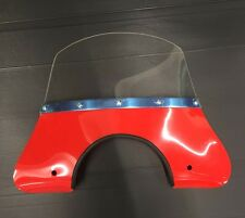 Fly screen red for Vespa & LML by Cuppini