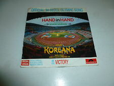 "GIORGIO MORODER / KOREANA - Hand In Hand - 1988 Germany 2-track 7"" Vinyl Single"