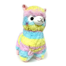 "AMUSE Alpacasso Plush Rainbow Stuffed Animal 18"" (Rainbow Alpaca)"