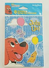 CLIFFORD the Big Red Dog INVITATIONS & THANK YOU CARDS  Birthday Party Supplies