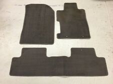 2006-2011 HONDA CIVIC COUPE GENUINE OEM FLOOR MATS CARPET LINER MAT RUG SET