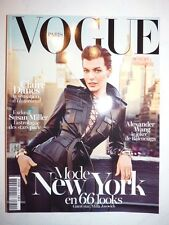 Magazine VOGUE PARIS fashion French #934 février 2013 MILLA JOVOVICH CLAIRE DANE