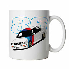 E30 M3 Touring Car Mug - Gift for Him Dad, Fathers Day Birthday