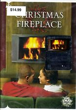 CHRISTMAS FIREPLACE DVD w/ HOLIDAY PIANO & GUITAR MUSIC! FILMED IN HD! NEW! 2009