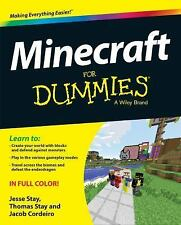 Minecraft for Dummies by Jacob Cordeiro, Thomas Stay and Jesse Stay (2015,...