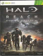 Halo Reach XBOX 360 Strategy Signature Series Guide Brady Games Bungie Book
