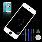White Replacement For iPod Touch 5 5th Gen Front Screen Glass Lens+Tools