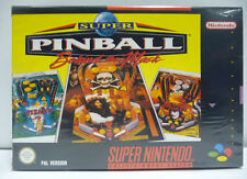 SUPER PINBALL BEHIND THE MASK - SUPER NINTENDO SNES PAL BOXED