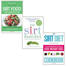 The Sirtfood Diet Collection 3 Books Set (The Essential Sirt Food Diet) New Pack