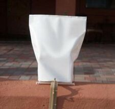 WHITE ELECTRIC luminary pathway light SLEEVES - RC brand - NO DIE CUT