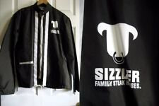 "Vintage - Brn Windbreaker Jacket - ""Sizzler Family Steakhouse""-  Mr. Barco -SZ M"