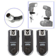 3pcs Yongnuo RF-603 II Wireless Remote Flash Trigger N1 for Nikon D800 D700 F5 6