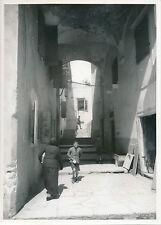 ÎLE DE CORFOU c. 1935 - Enfants  Rue de Corfou  Grèce - Div 8238