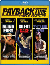 PRE  ORDER: PAYBACK TIME: TRIPLE FEATURE (Chuck Norris) - BLU RAY - Region A