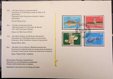 SWITZERLAND HELVETIA SG 1050/1053 PUBLICITY ISSUE 1983 FIRST DAY OF ISSUE STAMPS