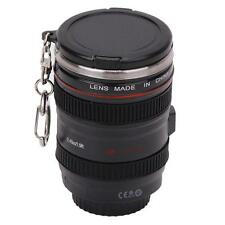 Popular Camera Lens Cup Travel Coffee Water Mug Stainless Steel Thermos Cup