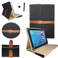 "10.1 inch Flip Case For MEDION LIFETAB S10346 (MD 98992) - 10.1"" Black Stylish"