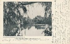 RIVERHEAD NY – The Old Red Mill – Long Island – udb – mailed 1908