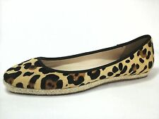 KATE SPADE Leopard Print Ballet Flats Shoes Womens Pony Hair US 10 EU 42.5 $189