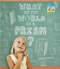 What in the World Is a Prism? (3-D Shapes), Good Books