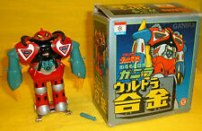 GANIRA TEKKAMAN NAKAJIMA TOY ROBOT Dx DIE CAST METAL FIGURE JAPAN vintage'70 BOX