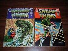 Swamp Thing 1-23 (first series)----lot of 16 comic books