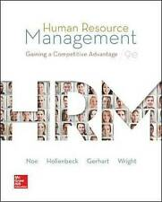 Human Resource Management: Gaining a Competitive Advantage by John R....