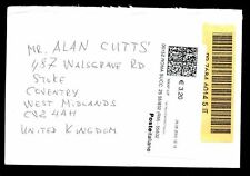 Italy 2005 Registered Airmail Cover To UK #C2238