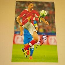 MARTIN HARNIK ÖSTERREICH 61 Länderspiele signed signiert In-Person Photo 20x30