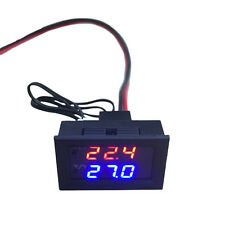 DC 12V Digital LED Microcomputer Thermostat Switch Smart Temperature Controller