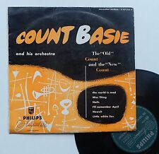 """Vinyle 33T Count Basie  """"The old Count and the new Count""""  - 25cm"""