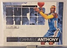2010-11 PANINI ROOKIES AND STARS SUPER STARS INSERT CARMELO ANTHONY NUGGETS WM11