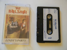 THE BOLSHOI - LINDY'S PARTY - CASSETTE TAPE - 1987 PAPER LABEL - BEGGARS BANQUET
