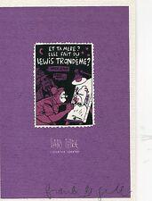 Ex-Libris Le Gall - Hommage à Trondheim