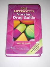 2013 Lippincott's NURSING DRUG GUIDE by Amy M. Karch NEW