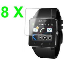 8X Ultra Clear LCD Screen Protector Cover Shield Guard Sony Smartwatch 2 + PAK