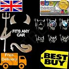 DEVIL CAR STICKER FUNNY BADGE EMBLEM LOGO CHROME DECAL BMW NISSAN MAZDA TOYOTA