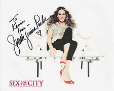 SARAH JESSICA PARKER Signed 10x8 Photo SEX IN THE CITY  COA