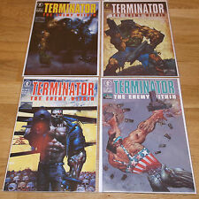 Dark-Horse-Comics-The-Terminator-The-Enemy-Within  4 Issue complete set