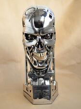Eyes Light Silver Version Terminator Salvation T800 Skull Polyresin Replica 1:1