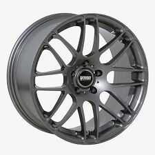 19x9.5 VMR Rims V718 CUSTOM ET33 Gunmetal Wheels (Set of 4)