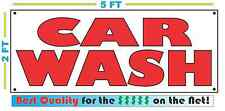 CAR WASH Banner Sign NEW Larger Size Best Price for The $$$$$