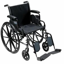 Drive Medical Cruiser III Light Weight Wheelchair W/ Flip Back Arm k318dfa-elr