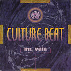 "CULTURE BEAT Mr. Vain PICTURE SLEEVE 7"" 45 record + juke title strip NEW RARE!"