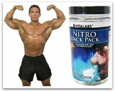 Lean Muscle Growth Builder Nitro NO Pump Creatine 6 Pack Body Building Workout P