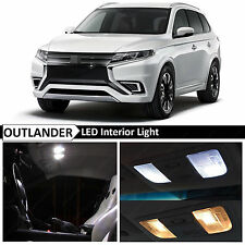 10x White Interior LED Lights Package for 2013-2017 Mitsubishi Outlander + TOOL