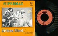 SUPERMAX 45 TOURS BELGIQUE ALASSIO AFRICAN BLOOD