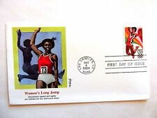 """May 4th, 1984 """"Women's Long Jump"""" Olympics First Day Cover"""