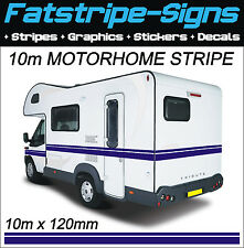 10m MOTORHOME VINYL STRIPES GRAPHICS STICKERS DECALS CAMPER VAN CARAVAN HORSEBOX