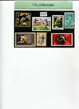 7 PCS SPORT USED STAMPS - FOOTBALL # S229